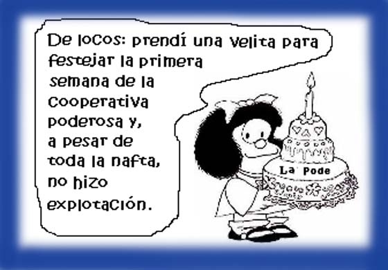 Mafalda y La Poderosa.