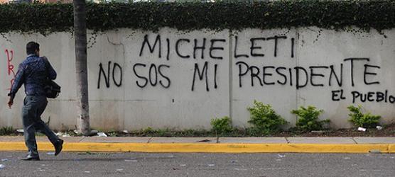 No sos mi presidente, Goriletti.