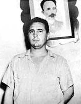 Fidel y Martí.