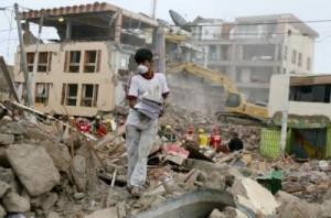 Terremoto en Chile.