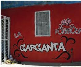 La Garganta.