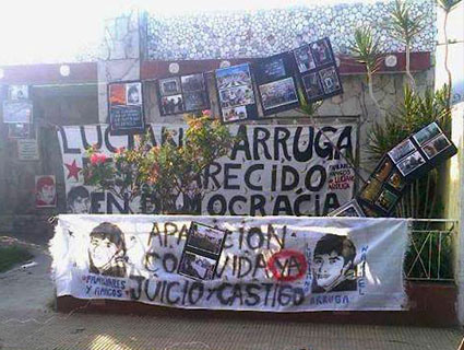 ¿Dónde está Luciano Arruga?