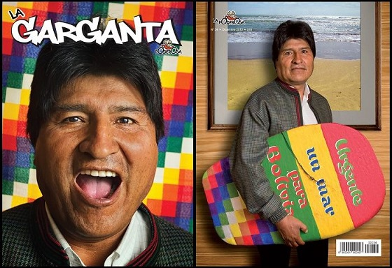 """Te pido un mar, un mar para Bolivia""..."