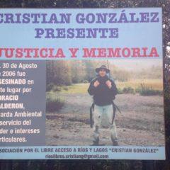 A 11 años, seguimos gritando: ¡Cristian González, presente!