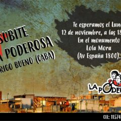 ¡Sumate a La Poderosa en Rodrigo Bueno!