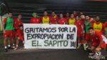 San Martín por la expropiación de El Sapito