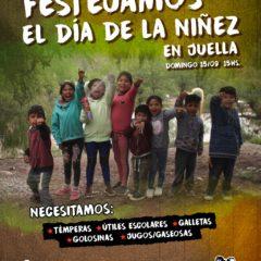 Día de la niñez en Juella