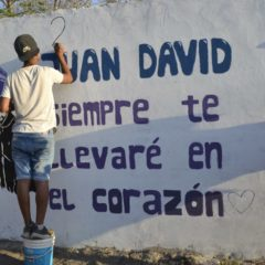 Juan David, siempre en nuestros corazones