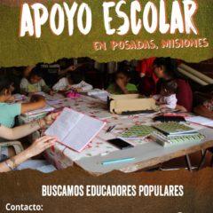 En Misiones buscamos educadores populares