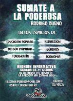 Sumate a La Poderosa en Rodrigo Bueno