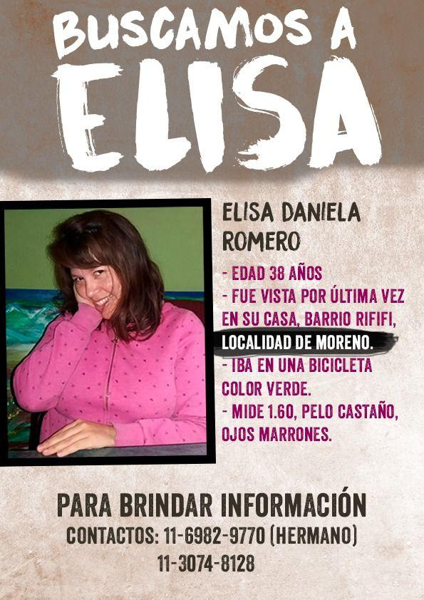 ¡Te estamos buscando, Elisa!