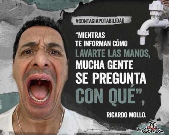 Ricardo Mollo Contagiá Potabilidad