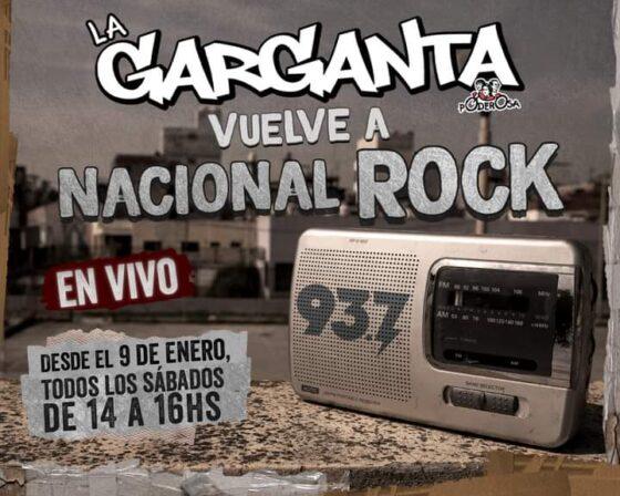 La Garganta en la Radio